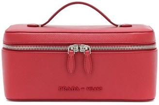 Prada Saffiano leather cosmetics case