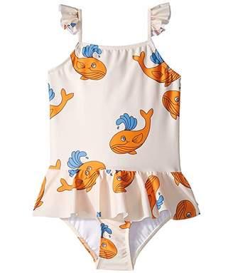 Mini Rodini Whale Skirt Swimsuit (Infant/Toddler/Little Kids/Big Kids)