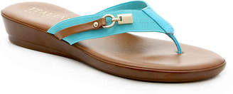196adb47d41b8 Italian Shoemakers Leather Women s Sandals - ShopStyle