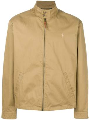 Polo Ralph Lauren mockneck zipped jacket