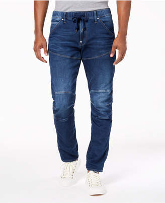 G Star Men's Tapered Fit Stretch Destructed Jeans, Created for Macy's