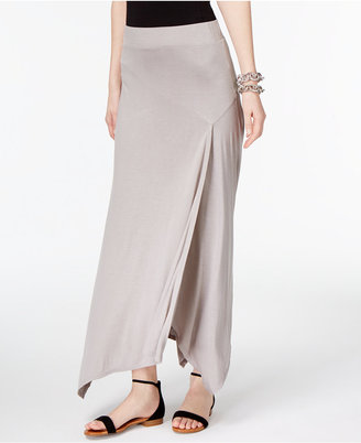 INC International Concepts Handkerchief-Hem Maxi Skirt, Only at Macy's $69.50 thestylecure.com