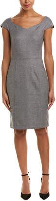 Reiss Hampstead Wool Sheath Dress