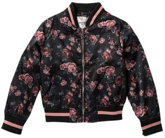 Urban Republic Floral Bomber Jacket (Big Girls)