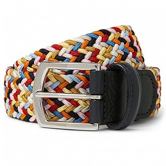 Anderson's Multi Color Stretch Belt $160 thestylecure.com