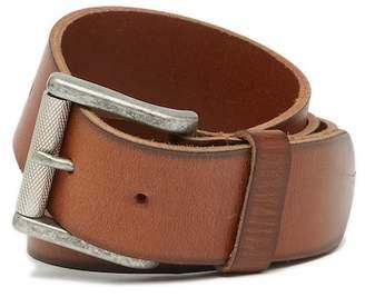 1901 Burnished Edge Leather Belt
