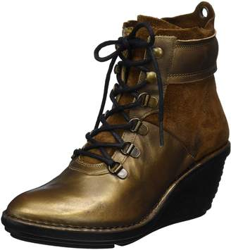 Fly London Womens Sica 678 Leather Boots 38 EU