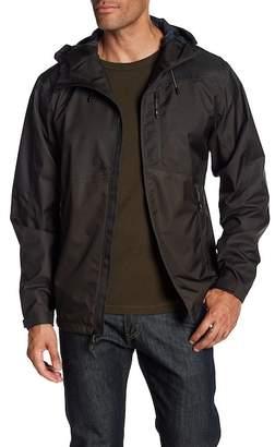 Hawke & Co Seam Sealed Hooded Rain Jacket