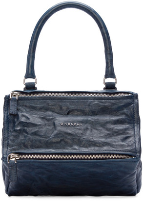 Givenchy Blue Small Pandora Bag $1,695 thestylecure.com