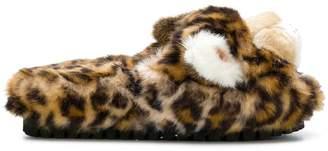 Dolce & Gabbana leopard slipper slides