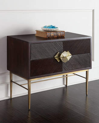 Global Views Byron Two-Drawer Chest