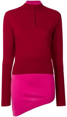 J.W.Anderson layered turtle neck sweater
