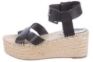 e0003878bc9 Pre-Owned at TheRealReal · Celine Leather Espadrille Wedges