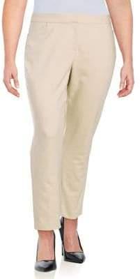 Rafaella Plus Slim-Leg Trousers