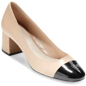 Cole Haan Women's Dawna Cap Toe Pumps