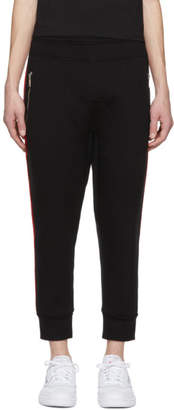Neil Barrett Black Double Stripe Lounge Pants