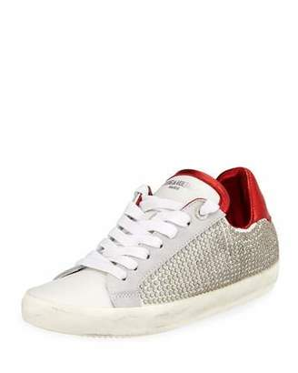 Zadig & Voltaire Side-Studded Low-Top Sneakers