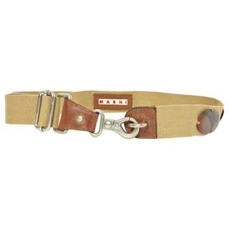 Marni Beige Cloth Belts