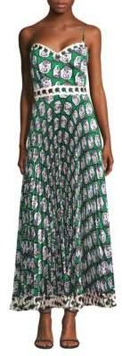 Milly Stencel Floral-Print Dress