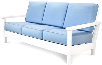 Polywood Harbour Deep-Seating Sofa - Air Blue