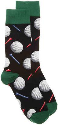 Socksmith Tee It Up Crew Socks - Men's