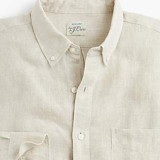 J.Crew Slim délavé Irish linen shirt