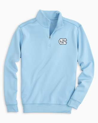 Southern Tide Gameday Performance 1/4 Zip Pullover - University of North Carolina