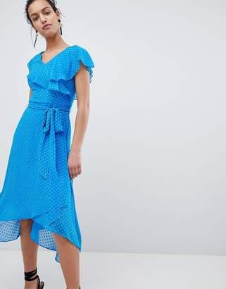Coast Dobby Wrap Dress