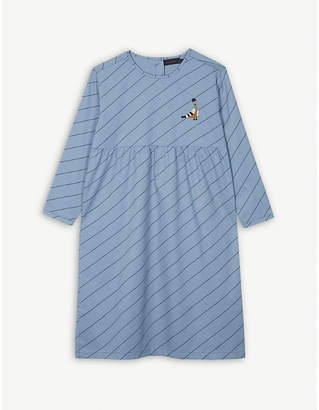TINY COTTONS Cotton stripe print dress 8 years