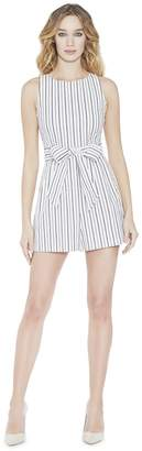 Alice + Olivia Melaine Romper With Tie Belt