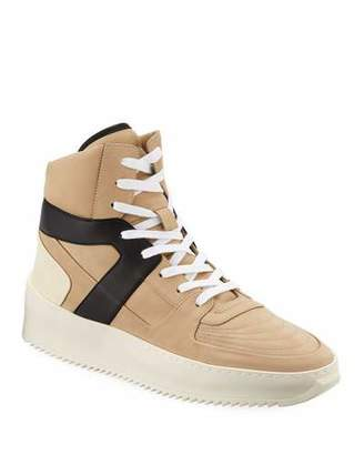 Fear Of God Men's Leather High-Top Basketball Sneakers