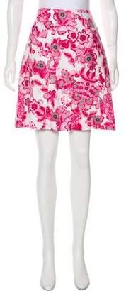 Burberry Mini Shift Skirt