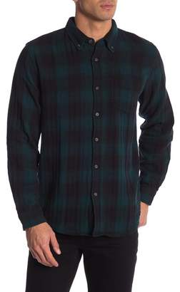 Joe Fresh Plaid Print Standard Fit Shirt