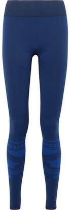 Tory Sport Stretch-jersey Leggings - Navy