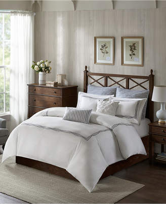Jla Home Harbor House Burke 5-Pc. King Cotton Duvet Set Bedding