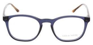 Giorgio Armani BiColor Round Eyeglasses