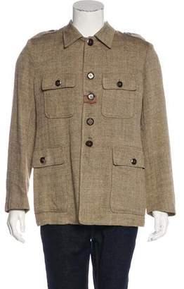 Etro Linen and Silk Jacket