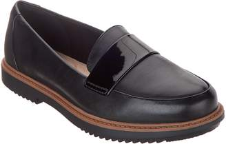 927908074f5 Clarks Leather Slip-On Loafers - Raisie Arlie