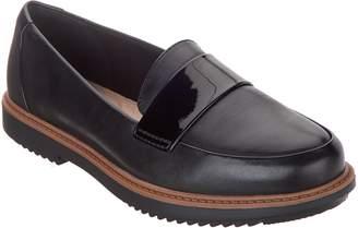 8083b0b544a Clarks Leather Slip-On Loafers - Raisie Arlie