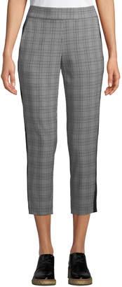Rachel Roy Glen Plaid Slim Cropped Pants