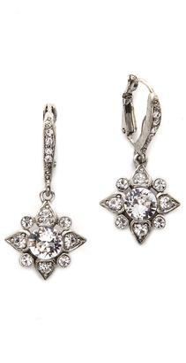 Oscar de la Renta Delicate Star Earrings $175 thestylecure.com