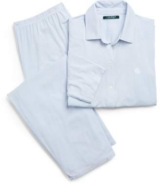 Ralph Lauren Striped Modal Pajama Set