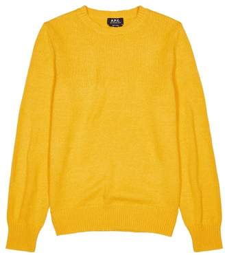 A.P.C. Lagoon Knitted Cotton Jumper