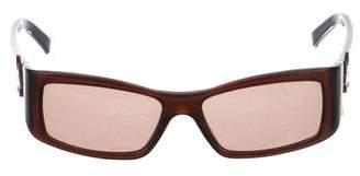 Etro Square Acetate Sunglasses