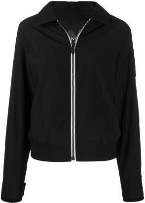 Moose Knuckles contrasting zip bomber jacket