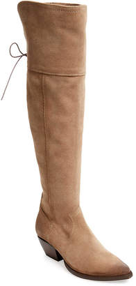 Frye Sacha Over-The-Knee Suede Boot
