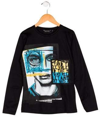 Antony Morato Boys' Printed Knit Shirt w/ Tags