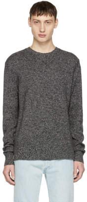 Rag & Bone Black and White Cashmere Haldon Sweater