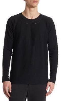 Issey Miyake Regular Fit Wool Sweater