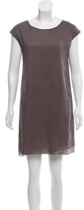 Fabiana Filippi Monili-Trimmed Silk Dress